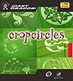 Table Tennis Rubber: Giant Dragon Cropcircles Red OX