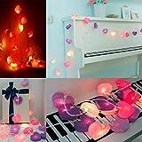 Lamp String TAOtTAO DIY Herzen handgemachtes kreatives Herz geformte Haus dekorative Lampe String