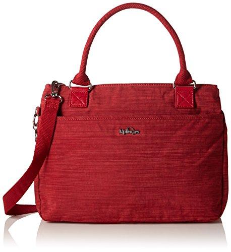 Kipling Caralisa, Sacs Portés Main Femme, 34x25x11 cm Rouge (REF33U Dazz Red)