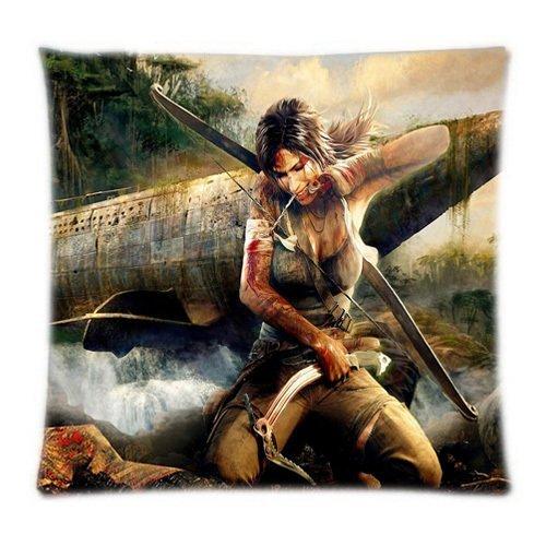 (Alexander Persönlichkeit Cool Tomb Raider Print Home Textile Zwei Seiten Kissen Überwurf Bezügen, 18x18inch)