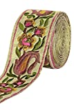 #8: Multi Colour Embroidery Thread Work Lace