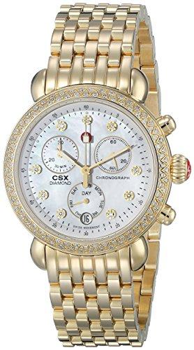 Michele MWW03M000141 - Reloj de pulsera mujer, acero inoxidable, color plateado