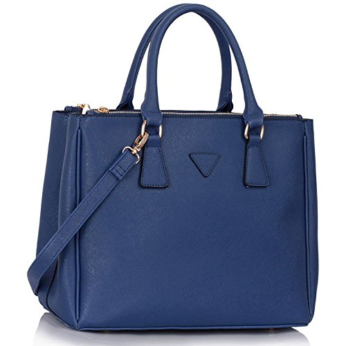 Handbags for women designer tote bags for girls Fashion Faux Leder Damen Celebrity Style New (Bag Inspiriert Großen Tote Von)