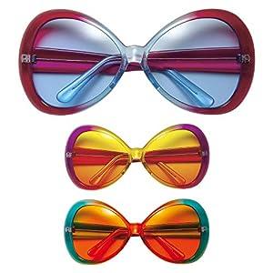 WIDMANN Disco glasses for adults (accesorio de disfraz)