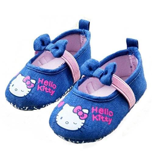 Baby Bucket Pre-Walker Sandal Shoes Light Weight Soft Sole Booties Sandal (10-15 Months, D. Denim)  available at amazon for Rs.360