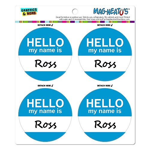 ross-hello-my-name-is-mag-neato-s-tm-automotive-car-kuhlschrank-locker-vinyl-magnet-set