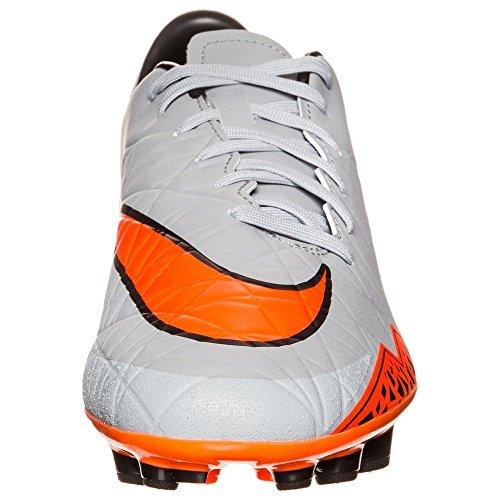 Nike Hypervenom Phelon II Ag-R, Scarpe da Calcio Uomo - WOLF GREY/TOTAL ORANGE-BLK-BLK