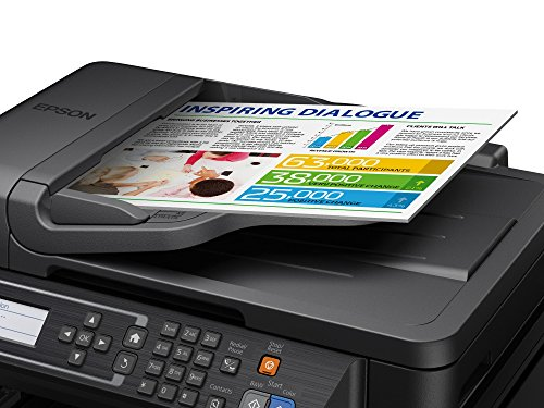 Epson EcoTank ET-4550 Multifunction Printer with Refillable Ink Tank - Black