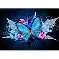 5D Diamant-Malerei Kit FULL Maple Leave Schmetterling DIY Strass Stickerei Kreuzstich Arts Craft für Home Wand-Decor 30x 40cm