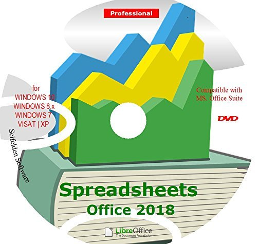 Spreadsheet Excel Office Suite 2019 Works Home Student and Business für Windows 10 8.1 8 7 Vista XP 32 64 bit - Alternative zu Microsoft Office 2016 2013 2010 365 kompatibel Word Excel Powerpoint (Microsoft Office 2010 Student)