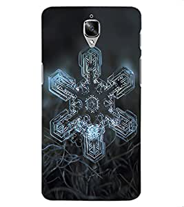 ColourCraft Abstract image Design Back Case Cover for OnePlus Three