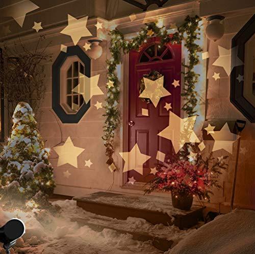 Test Led Weihnachtsbeleuchtung.Weihnachtsbeleuchtung Hauswand Projektor Test Vergleich 2018
