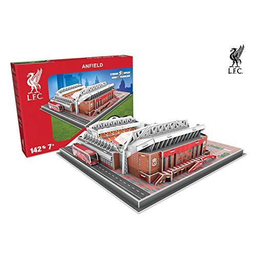 Giochi Preziosi 70037151 - Puzzle 3D Stadio Anfield Road Liverpool, 160 pz.,...