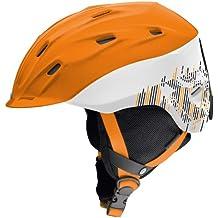 Carrera Makani–Casco de E00396, unisex, naranja, 55-59 cm