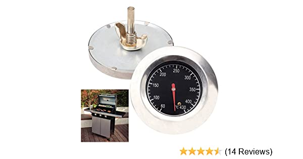 Itian BBQ Thermometer Grillthermometer Thermometer Edelstahl Ofenthermometer
