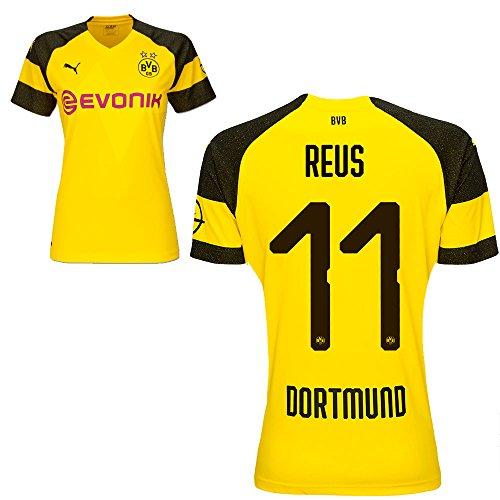 Puma BVB Borussia Dortmund Fußball Damen Home Trikot 2018 2019 Frauen Heimtrikot Marco Reus 11 Gr L