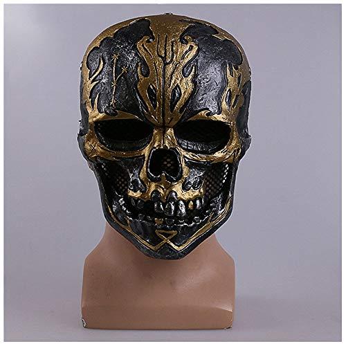 Maske YN Film 2017 Fluch der Karibik 5 Dead Untested Kopfbedeckungen Cos Halloween Piraten