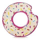 Intex-59265 Rueda Hinchable Donut Rosa, 107 x 99 cm (1)