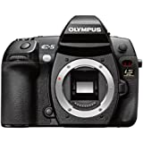 Olympus E-5 SLR-Digitalkamera (12 Megapixel, 7,6 cm (3 Zoll) Display, bildstabilisiert) Gehäuse schwarz