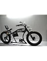 cruiser hombre 26 custom bike negro cromado