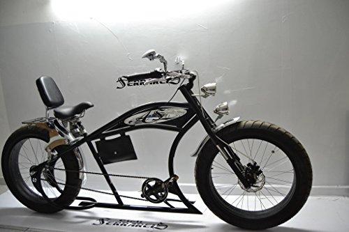 Cruiser Herren 26Custom Bike schwarz chrom