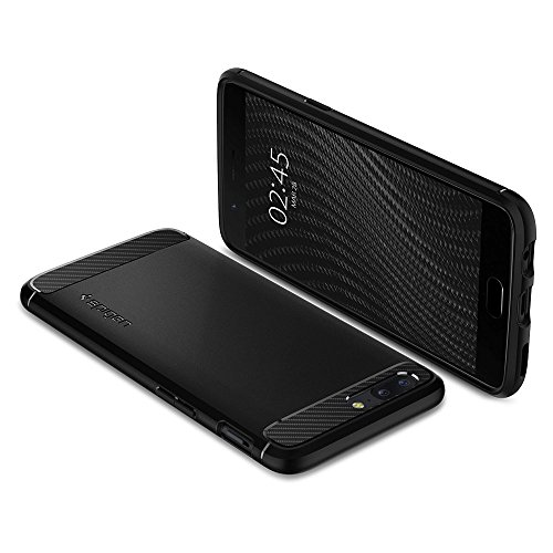 Spigen-Rugged-Armor-Premium-TPU-Back-Cover-Case-for-OnePlus-5-One-Plus-5-OP5-Black-K04CS21513