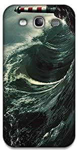 The Racoon Lean Night Waves hard plastic printed back case / cover for Samsung Galaxy Mega 5.8