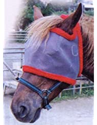 Passionnal - Masque Anti Mouches - Taille Double Poney