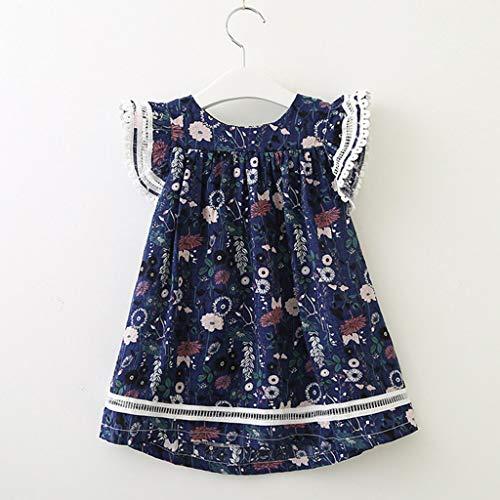 47195e943 K-Youth Bebé Niñas Vestidos de Floral Chicas Vestido para Niña ...