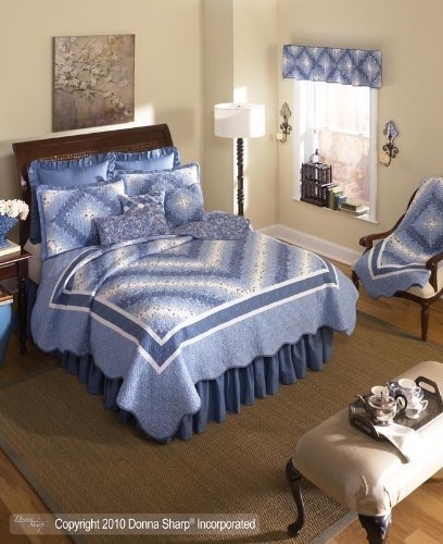 donna-sharp-precious-postage-stamp-quilted-throw-or-wallhanging-blue-by-donna-sharp-inc