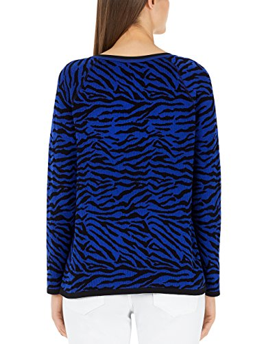 Marc Cain Sports Damen Pullover Mehrfarbig (Royal Blue 364)