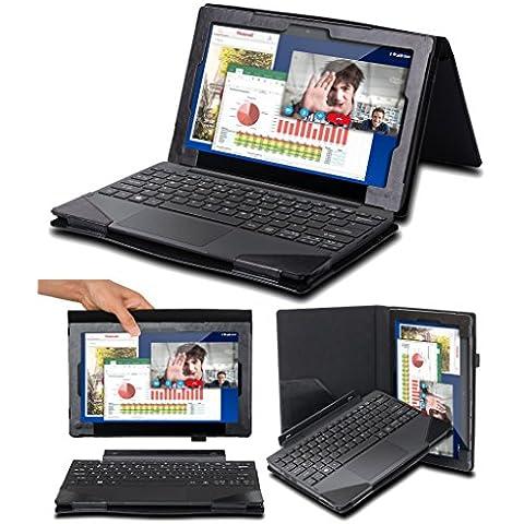 Supremery 2en1 Odys 12 Evolución de la cubierta protectora de la caja Case Accesorios teclado del soporte para Odys Evolution 12 - 2en1 X610119 11,6 pulgadas (29,5 cm) de tablet PC convertible,