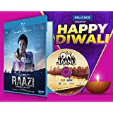 Raazi + Ok Jaanu - 2 Hindi Movies