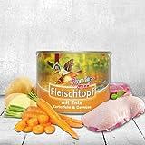 DOGREFORM Fleischtopf 3 x 195g Junior-Menü mit Ente, Kartoffeln und Gemüse