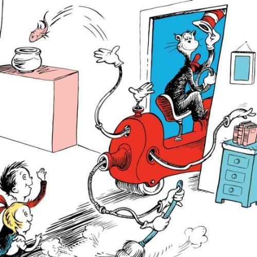 Dr. Seuss und die Reinigung Maschine (Dr Seuss Hüte)