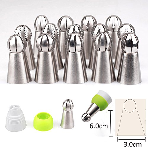 aokur-14pcs-icing-piping-cream-pastry-bag-nozzle-cake-decorating-baking-tool-tips