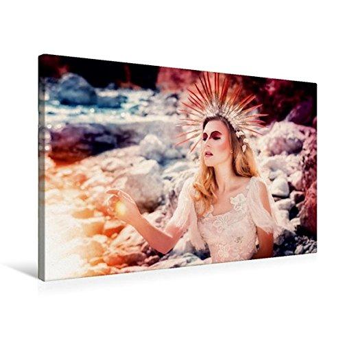 Preisvergleich Produktbild Premium Textil-Leinwand 75 cm x 50 cm quer, König des Sommers | Wandbild, Bild auf Keilrahmen, Fertigbild auf echter Leinwand, Leinwanddruck: Ein modernes Märchen (CALVENDO Menschen)