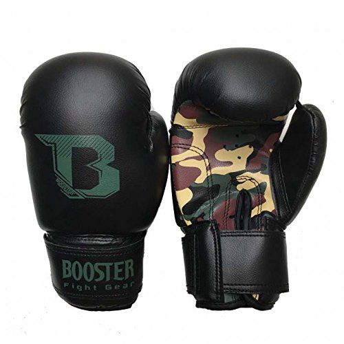 Booster Boxhandschuhe, BT-Kids, camo, Kinder Boxing Gloves, MMA, Muay Thai Size 6 Oz