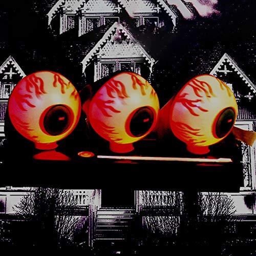 Top Kostüm Big Kind Fun - vijTIAN Halloween Terror Gruselige Augenball-Requisite Dekoration Ostern Party Tricky Supplies Bar Perfect Fun Thriller Eyeball Requisiten