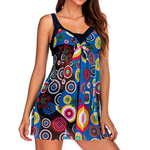 Asalinao Damen Einteilige Badebekleidung Backless Tummy Control Monokini Badeanzüge