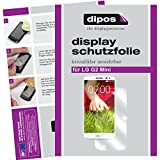 dipos I 2X Schutzfolie klar passend für LG G2 Mini Folie Displayschutzfolie