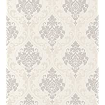 RT 725612 Gentle Elegance - Papel pintado para pared (fibra húmeda), multicolor
