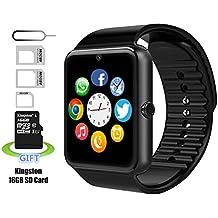 Smart Watch, Reloj Inteligente, Android Smartwatch, iPhone inteligente reloj, Pushman 1, cada día impermeable, sweatpr impermeable, smartphones, inteligente reloj para Android, inteligente reloj para iPhone6/6S/7