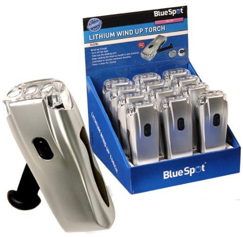 Blue Spot 65212 Dynamo-Taschenlampe, Lithium, zum Aufziehen