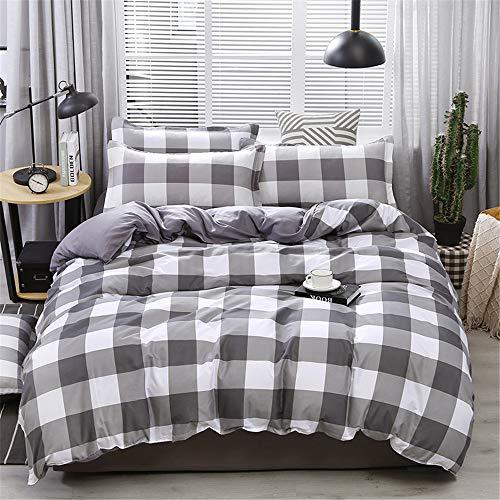 SHJIA Nordic Stil Einfache Bettwäsche Set Kinder Erwachsene Bettbezug Mit Königin Studenten H 180x220cm -