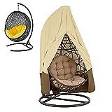 Coperture della sedia del patio della veranda di veranda, grande Aegis dell'oscillazione dell'uovo di vimini -Tessuto durevole di Oxford con in PVC resistente all'acqua Grande formato 75 * 45 pollici