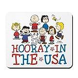 CafePress–Hooray in den USA–rutschfeste Gummi Mauspad, Gaming Maus Pad