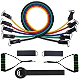 Loowoko Resistance Bands Resistance Band Rakanaka, Fitness Bands Set Gymnastics Bhuku neAnor Anchors, Handles, Ankle Straps for Full-Body Workout Yoga Pilates Fitness