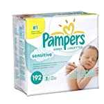 Pampers Sensitive Baby Wipes - Lingettes Hypoallergeniques