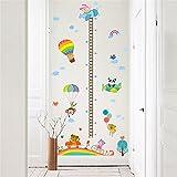 Pegatina pared medidor altura globos para dormitorios bebes infantiles cuartos de juegos de OPEN BUY
